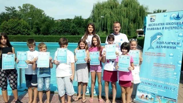 Школа пливања у Прокупљу оправдала очекивања