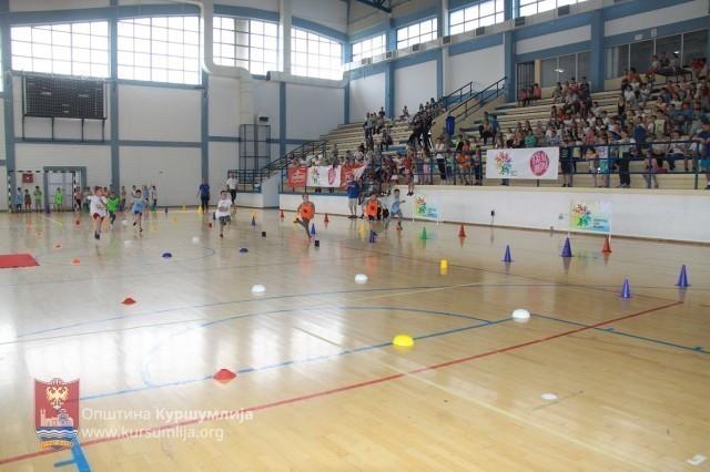 """""""Školica sporta"""" za najmlađe u Kuršumliji"""