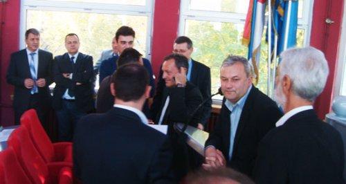 Dinić prvi u redu – Mihajlović najvišlji na slici