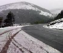 Pao sneg u Kuršumliji