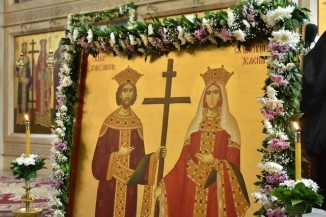 Данас је дан Светог цара Константина и царице Јелене