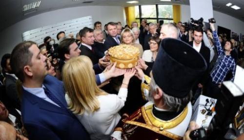 Славски колач из манастира Свети Стефан, Селаковић као домаћин