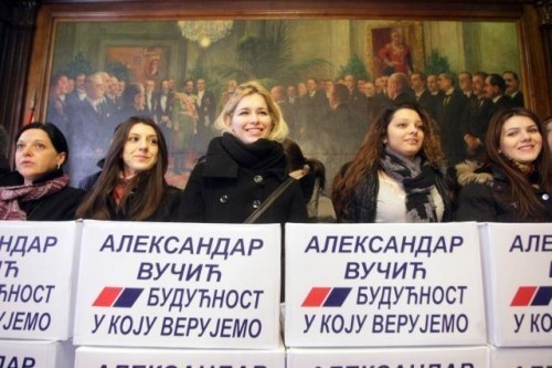 На изборној листи Напредњака 32 кандидата са југа Србије