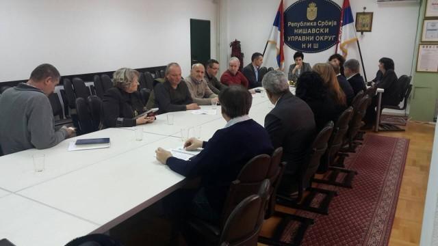 Први колегијум нове начелнице Нишавског округа, конретни планови и добре вести на почетку мандата