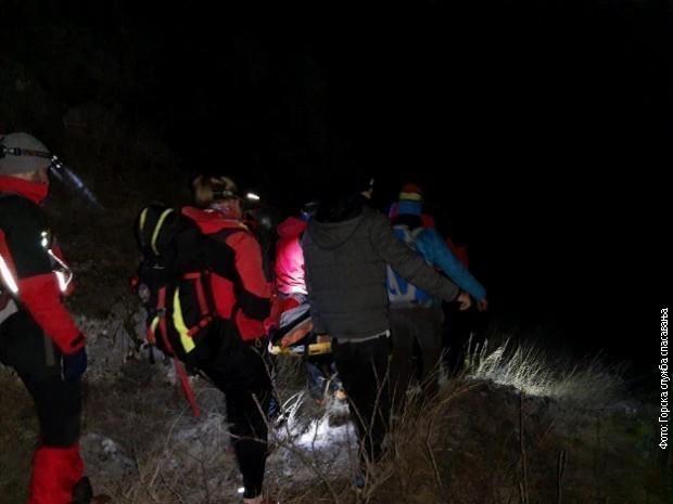 Спасен повређени пењач из Јелашничке клисуре