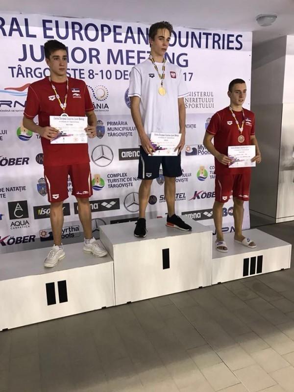Друго место за Андрију на такмичењу у пливању земаља централне Европе