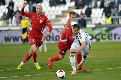 Radnički protiv Partizana u desetom kolu Superlige