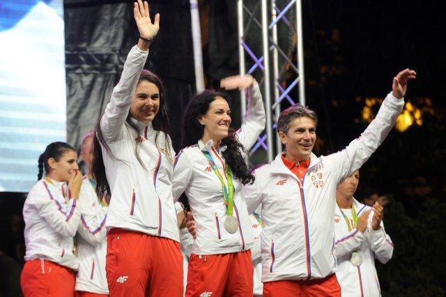 Тијана и Милица на турниру у Нишу Фото: MN Press