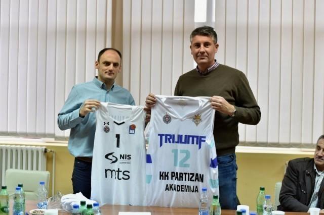 """Нишки КК """"Тријумф"""" постаје академија КК """"Партизан"""""""