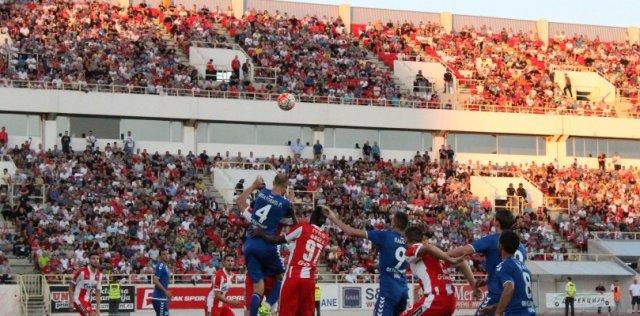 Црвена звезда је шампионски одиграла у Нишу