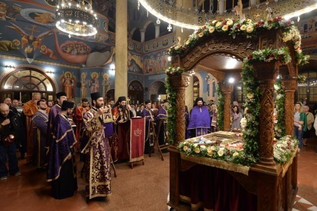 Распоред богослужења владике Арсенија за Васкрс