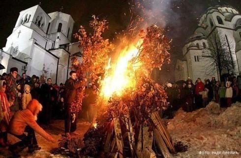 Dobro veče, srećno vam badnje veče  Južna Srbija Info