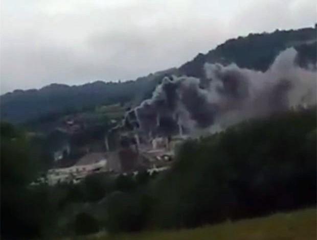 Сурдулица у диму: Незгода у фабрици Кнауф