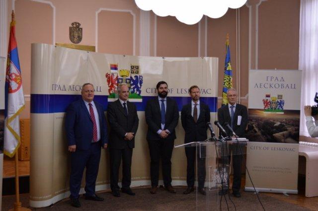 Амбасадор Шведске Јан Лундин први пут посетио Лесковац