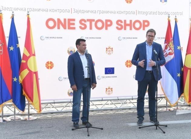 """Вучић на граничном прелазу Прешево, ускоро јединствена заједничка контрола """"One stop shop"""""""