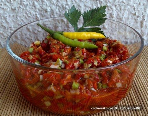 Trljanica od svežih pečenih paprika, Foto: Kulinarka