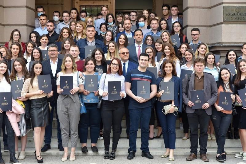 Удовичић посетио југ Србије - стипендије за 214 студента Нишког универзитета