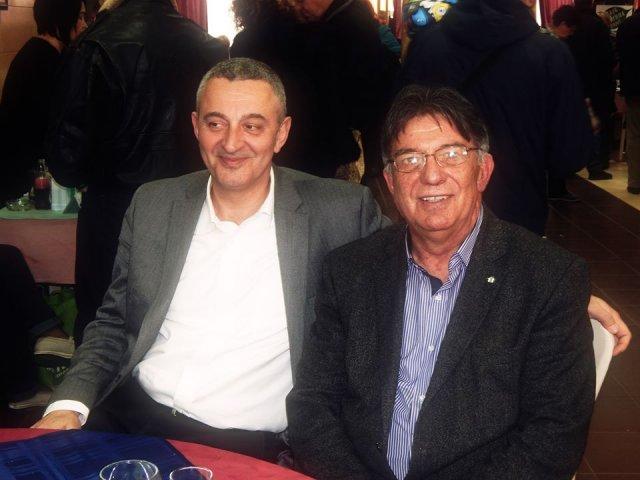Урош Парлић и Зоран Златковић, Фото: Њ.П. Јужна Србија