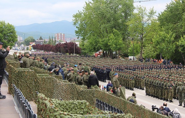 "Generalna proba pred predstojeću paradu ""Odbrana slobode"""
