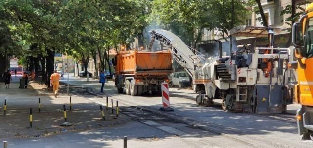 Po ugledu na prestonicu i zahtevima predsednika Vučića, ubrzana obnova ulica u Nišu
