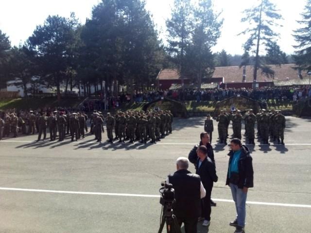 Лесковац: Мартовска класа војника положила заклетву