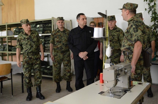 Министар Вулин: Наређење је извршено