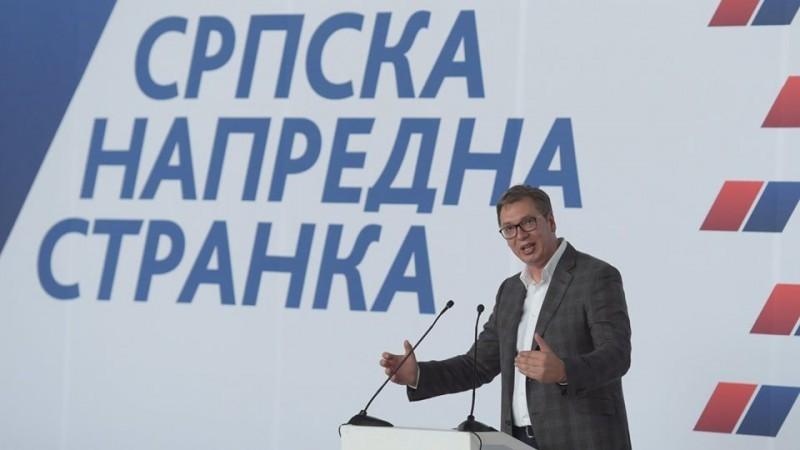 Вучић: Док сам ја жив неће странци одређивати ко ће да влада у Србији