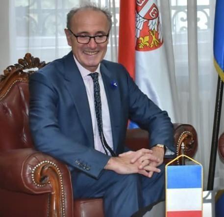 Француски амбасадор данас у Нишу