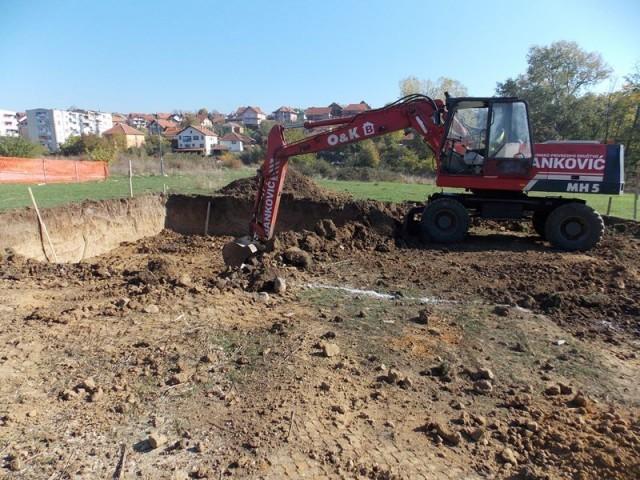У Прокупљу почела изградња станова за избеглице