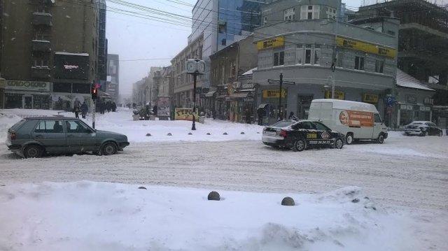 Саопштење Штаба за ванредне ситуације: Град је проходан!