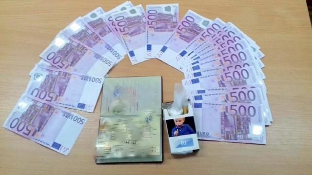 Еври у доњем вешу, кокаин у паклици цигарета