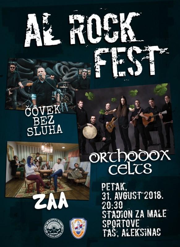 """AL ROCK FEST 2018"" у Алексинцу"
