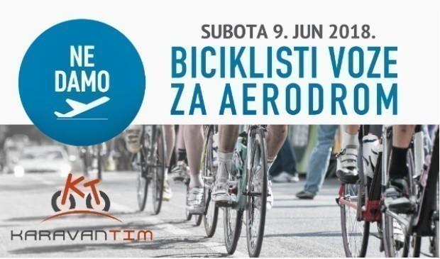 Протестна вожња бициклиста због нишког аеродрома