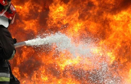 Запалио аутомобил полицијског службеника