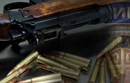 Vranje: Arsenal oružja i municije u kući