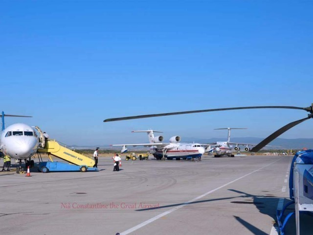Фото: Нишки аеродром
