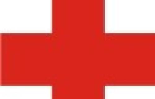 Crveni krst pomaže poplavljenom području