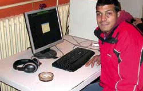 Бескућник са Интернет сајтом