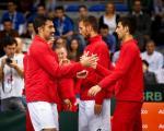 Niš: Srbija je u četvrtfinalu Dejvis kupa!