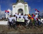 Vranjski biciklisti krenuli na Kajmakčalan
