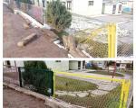 Поправљена ограда, мета вандала