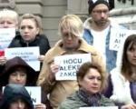 """Протест у Београду: """"Хоћу Алексин закон"""""""