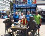 Бициклисти ампутирци из Источног Сарајева, боравили у Нишу на путу за Хиландар