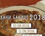 """Dobar stari ukus: """"Dani banice"""" u Beloj Palanci od 9. do 11. avgusta"""