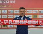Представљен Батак, четврти тренер Радничког за ову сезону
