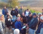 Belotinčani dočekali zoru na barikadama ispred deponije
