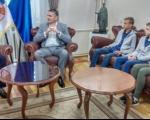 """Пријем за учеснике кампа """"Будућност Русије"""""""
