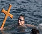 Niš: Miloš Čičić prvi doplivao do krsta