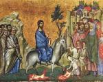 Hristov ulazak u Jerusalim - Cveti