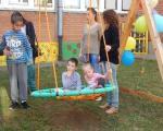 """Radost igre i znanja u novom """"Senzornom parku"""" u Specijalnoj školi """"Bubanj"""""""